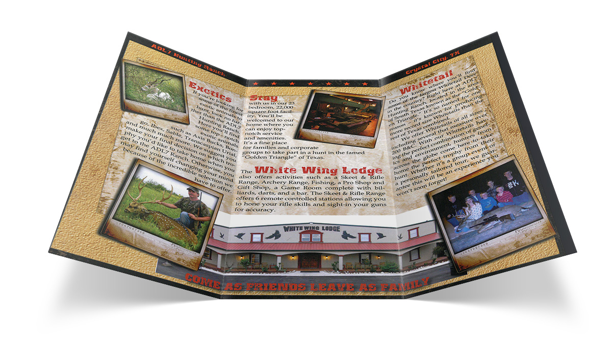 ADL7 Hunting Ranch Brochure