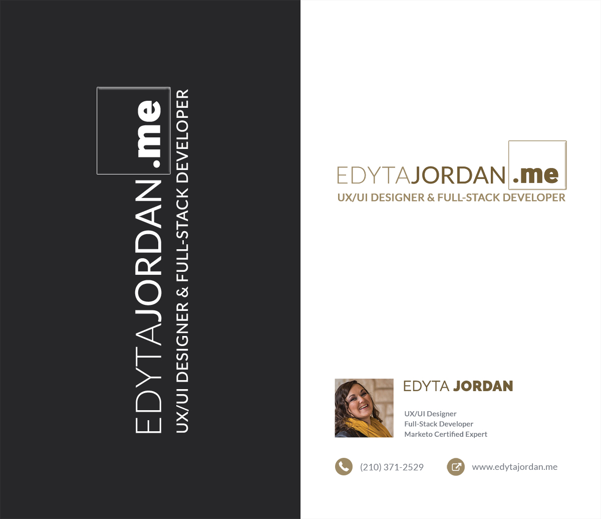 Edyta Jordan Logo & Business Card
